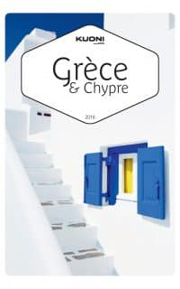 Kuoni - Grece Chypre 2018 couverture